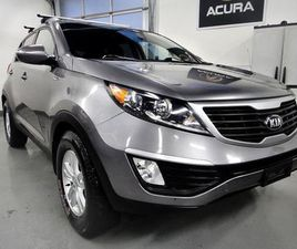 USED 2013 KIA SPORTAGE LX MODEL,AWD, NO ACCIDENT