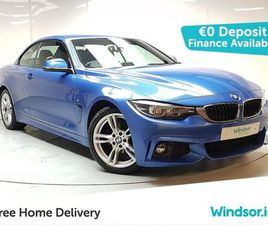 BMW 4 SERIES 420 M SPORT 420D 190 CABRIO FOR SALE IN DUBLIN FOR €38,995 ON DONEDEAL