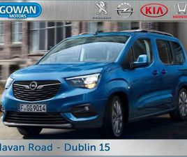 OPEL COMBO LIFE ENERGY 5 SEATER 1.5 110PS FOR SALE IN DUBLIN FOR €28,195 ON DONEDEAL