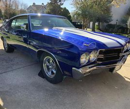 FOR SALE: 1970 CHEVROLET CHEVELLE SS IN SPARKS, MARYLAND