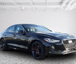 BRAND NEW BLACK COLOR 2021 GENESIS G70 FOR SALE IN SPRINGFIELD, VA 22150. VIN IS KMTG34LE7