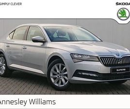 SKODA SUPERB AMBITION 1.6TDI 120BHP DSG FOR SALE IN DUBLIN FOR €37,885 ON DONEDEAL