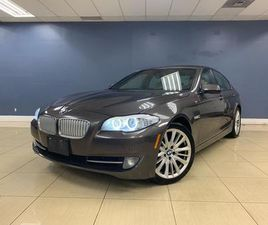 USED 2011 BMW 5 SERIES 550I NO ACCIDENT 1OWNER W/HUD NAV SUNROOF CAMERA