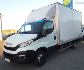 IVECO DAILY 35-130 20M3/HAYON