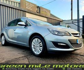 2015 OPEL ASTRA * 1.6 CDTI * NEW NCT * FOR SALE IN DUBLIN FOR €8,500 ON DONEDEAL