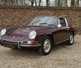 PORSCHE 912 TARGA SOFT WINDOW, MATCHING NUMBERS, STUNNING RESTORED CONDITION (1968)
