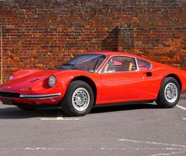 FERRARI 246 GT MANUAL - RARE FLARED ARCH UPGRADE - RECENT ENGINE REBUILD