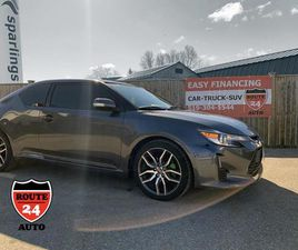 USED 2014 SCION TC SPORTS COUPE 6-SPD AT SLEEK AND SPORTY HATCHBACK
