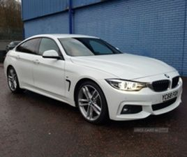 USED 2019 BMW 4 SERIES 430D M SPORT GRAN COUPE 255BHP AUTO 430D M SPORT GRAN COUPE 255BHP
