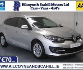 2016 RENAULT MEGANE ESTATE AUTOMATIC *FROM €70PW* FOR SALE IN MAYO FOR €12750 ON DONEDEAL