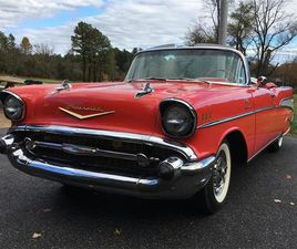 FOR SALE: 1957 CHEVROLET BEL AIR IN COOKSVILLE, MARYLAND