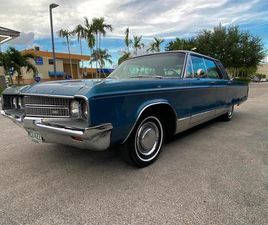 FOR SALE: 1968 CHRYSLER NEW YORKER IN MIAMI, FLORIDA
