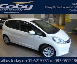 HONDA FIT GP1 CVT HYBRID 5DR AUTO. IMMACULATE CAR FOR SALE IN DUBLIN FOR €7450 ON DONEDEAL