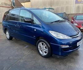 USED 2006 TOYOTA PREVIA T3 D-4D MPV 82,000 MILES IN BLUE FOR SALE | CARSITE