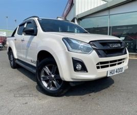USED 2018 ISUZU D-MAX BLADE DCB NOT SPECIFIED 31,000 MILES IN WHITE FOR SALE | CARSITE