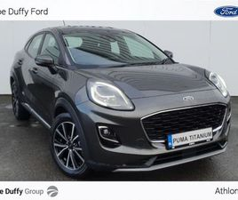 FORD PUMA TITANIUM (MILD-HYBRID) 125PS FOR SALE IN ROSCOMMON FOR €28,005 ON DONEDEAL