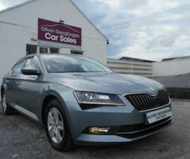 SKODA SUPERB AMBITION 1.6 TDI 120 BHP DSG 200 TAX FOR SALE IN GALWAY FOR €19500 ON DONEDEA