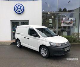 VW CADDY VAN 2.0 TDI BLANC D'OCCASION, MOTEUR DIESEL ET BOITE MANUELLE, 5 KM - 19.760 € |