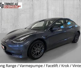 LONG RANGE 4WD/ FACELIFT / KROK / VINTERHJUL / NY TYPE