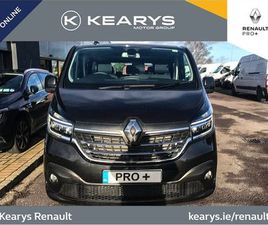 RENAULT TRAFIC SPORT EDITION 9 SEATER BUS REGISTR FOR SALE IN CORK FOR €47,500 ON DONEDEAL
