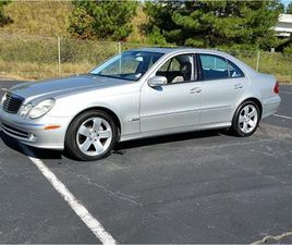 FOR SALE: 2003 MERCEDES-BENZ E500 IN SIMPSONVILLE, SOUTH CAROLINA