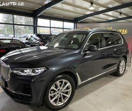 BMW X7, 30 XD 195KW 7MÍST DOVU011ARY TOP!!