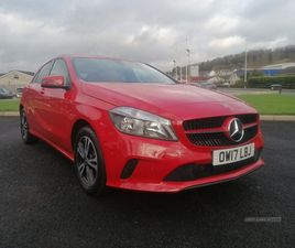 >AUG 2017 MERCEDES A-CLASS A180D SE EXECUTIVE 5DR AUTO