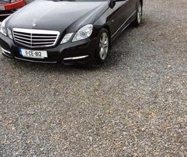 MERCEDES-BENZ CE-CLASS E 200 CDI BE AVANTGARDE 4DR FOR SALE IN TIPPERARY FOR €10,995 ON DO