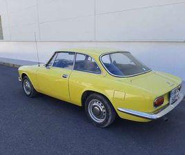 ALFA ROMEO GT BERTONE 1750 VELOCE 1ST SERIE 1ST HAND !!!