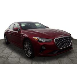 BRAND NEW RED COLOR 2021 GENESIS G70 FOR SALE IN PLEASANT HILLS, PA 15236. VIN IS KMTG34LA