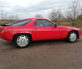 USED 1986 PORSCHE 928 4.7 COUPE 77,898 MILES IN RED FOR SALE   CARSITE