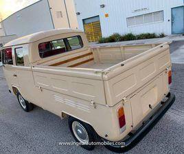 1970 VOLKSWAGEN TYPE 2 DOUBLECAB VW BUS MICROBUS TYPE II