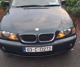 BMW316I 85000 MLS EXCELLENT CONDITION FOR SALE IN CORK FOR €2,400 ON DONEDEAL