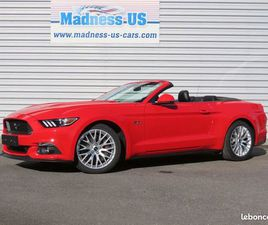FORD MUSTANG GT PREMIUM CABRIOLET 2017 - MALUS ECOLOGIQUE OFFERT