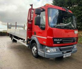 2013 63 DAF LF 45.160 EEV 24FT ALLOY DROP-SIDE, TAIL-LIFT, AIR CON, 260KMS
