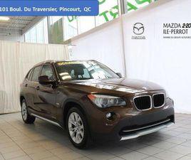 VÉHICULE BMW X1 2012 USAGÉ À VENDRE À X