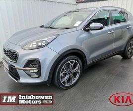 KIA SPORTAGE GT-LINE 1.6 CRDI 134BHP 6-SPEED 84 FOR SALE IN DONEGAL FOR €31,945 ON DONEDEA