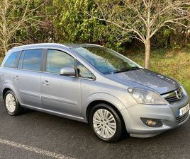 OPEL ZAFIRA 1.7 CDTI // NCT 10/2022 // LOW MILEAGE FOR SALE IN DUBLIN FOR €5,750 ON DONEDE