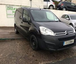 CITROEN BERLINGO PRICE INCLUDES VAT BLUEHDI 75 SW FOR SALE IN CORK FOR €10,250 ON DONEDEAL
