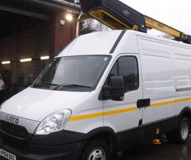 IVECO DAILY, 2014 50C15 MWB CHERRY PICKER FOR SALE IN DOWN FOR £22,750 ON DONEDEAL