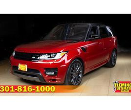 FOR SALE: 2017 LAND ROVER RANGE ROVER IN ROCKVILLE, MARYLAND