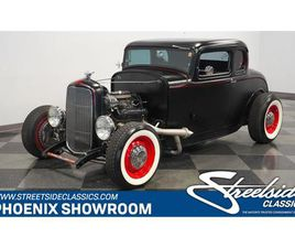 FOR SALE: 1932 FORD 5-WINDOW COUPE IN MESA, ARIZONA