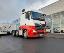 2016 MERCEDES ACTROS 2545 6X2 AUTOMATIC NEW CVRT FOR SALE IN MEATH FOR €37200 ON DONEDEAL