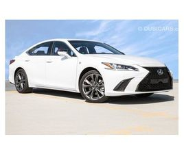 LEXUS ES 350 F-SPORT WITH ADAPTIVE CRUISE CONTROL , LANE CHANGE ASSIST AND NAVIGATION FOR