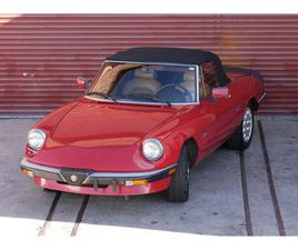 FOR SALE: 1988 ALFA ROMEO SPIDER IN RENO, NEVADA