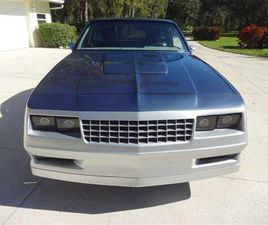 1984 CHEVROLET EL CAMINO V8 AUTO A/C GREAT BUY!