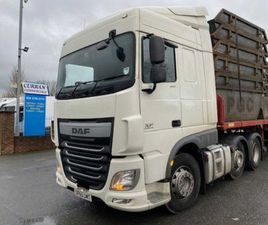 2016 DAF XF 460 SPACE CAB 6X2 44 TON TRACTOR UNIT FOR SALE IN ARMAGH FOR €1 ON DONEDEAL
