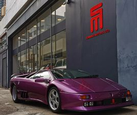 1996 LAMBORGHINI DIABLO 001/150 LIMITED RHD HK SUPPLIED