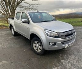 USED 2014 ISUZU D-MAX 2.5 TD EIGER DCB 164 BHP NOT SPECIFIED 88,005 MILES IN SILVER FOR SA