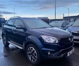 USED 2017 SSANGYONG KORANDO LIMITED EDITION 2.2 176BHP AUTO 5DR ESTATE 34,414 MILES IN DAN